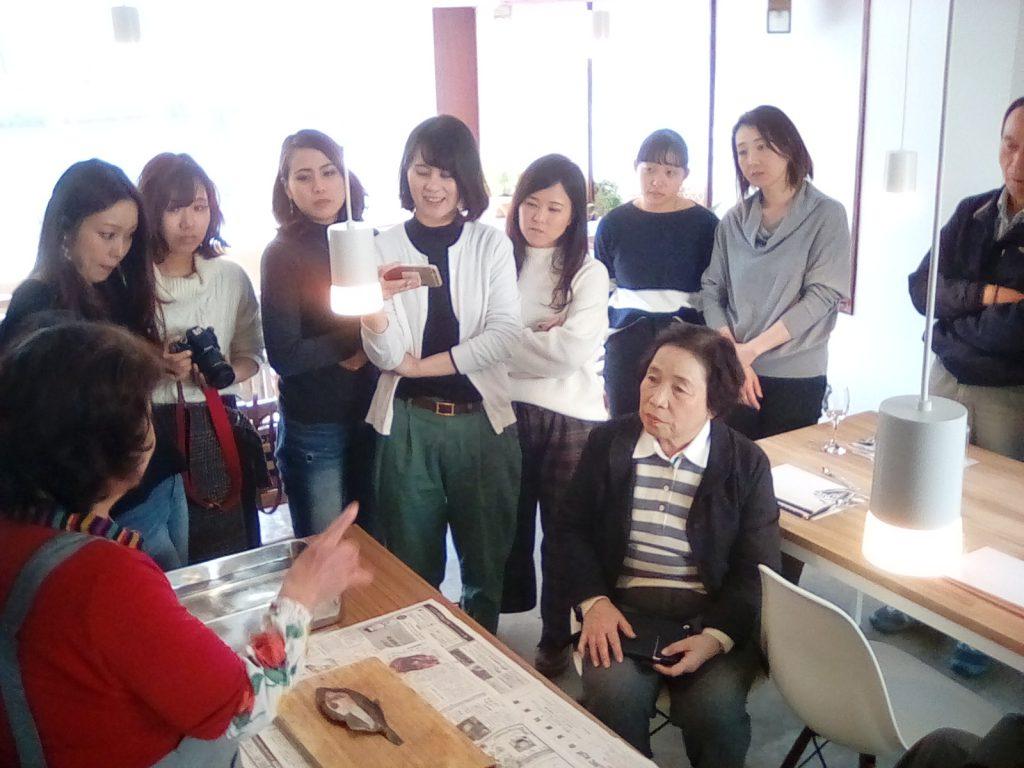 【12/2】山田さんの料理体験を実施しました