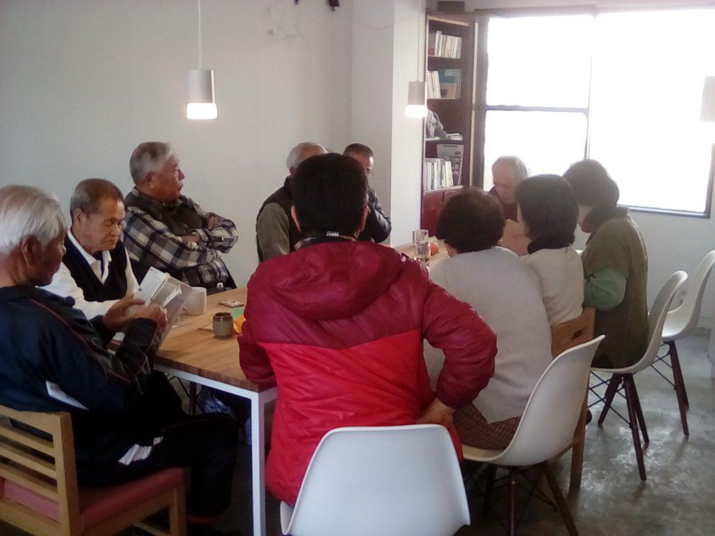 【1/19】家島のボランティア団体の会合に使っていただきました!